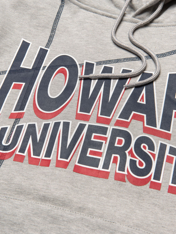 "Howard University '93 ""Frankenstein"" Hoodie MDH Grey/Navy"