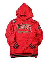 "FTP Tuskegee University '92 ""Frankenstein"" Stitched Hoodie Red/Kelly Green"