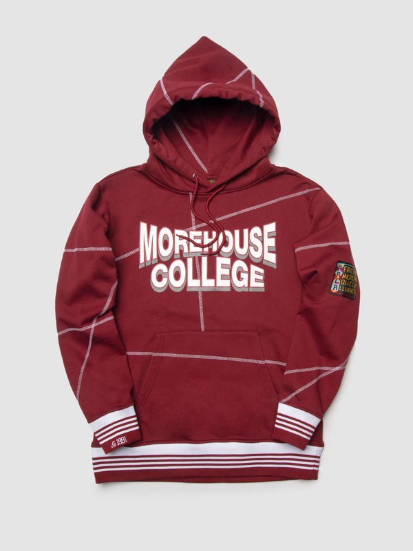 "Morehouse College '93 ""Frankenstein"" Sweatsuit - Maroon/White"