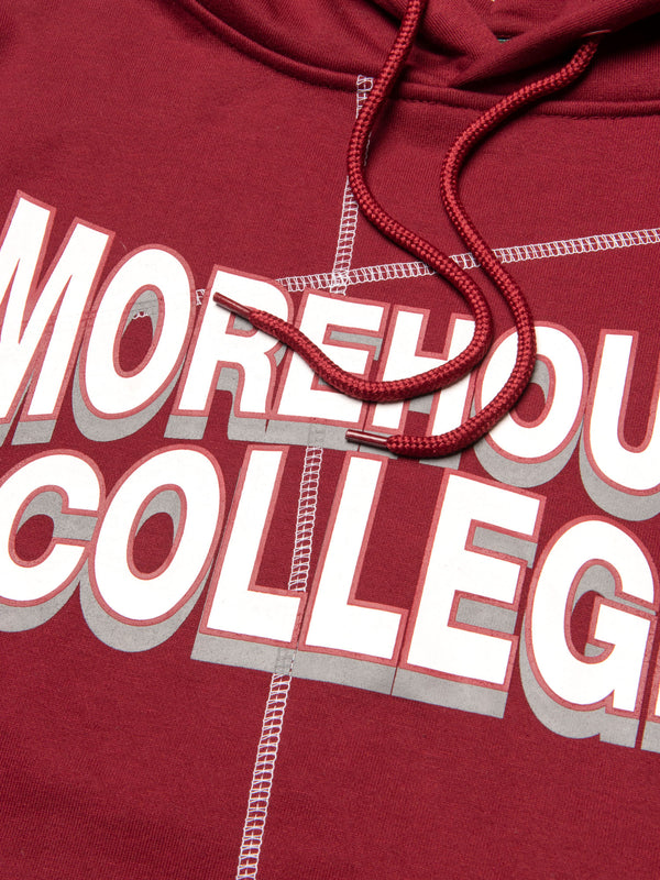 "Morehouse College '93 ""Frankenstein"" Hoodie Maroon/White"