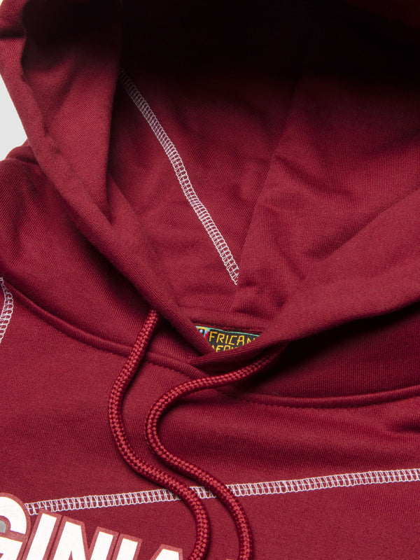 "Virginia Union '93 ""Frankenstein"" Hoodie Maroon/White"