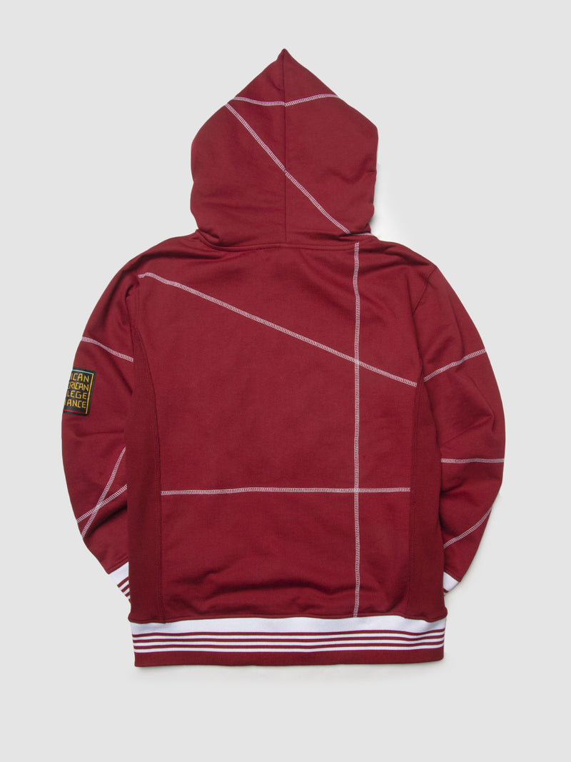 "Virginia Union '93 ""Frankenstein"" Sweatsuit - Maroon/White"