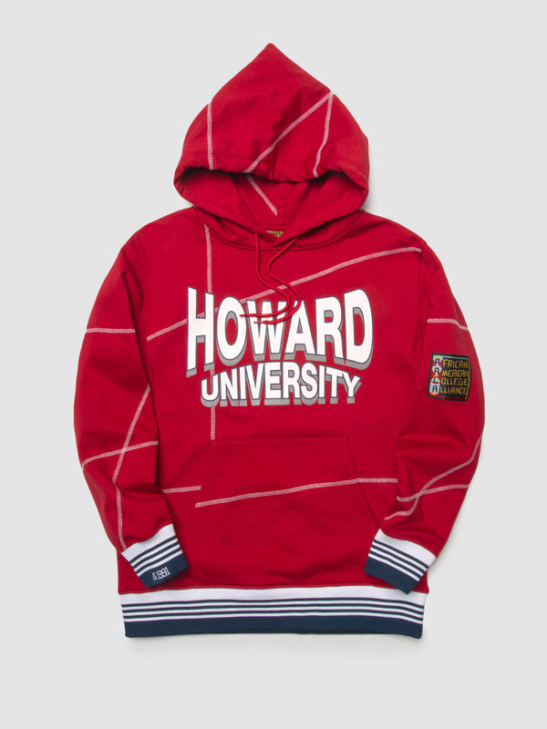 "Howard University '93 ""Frankenstein"" Hoodie Red/White"