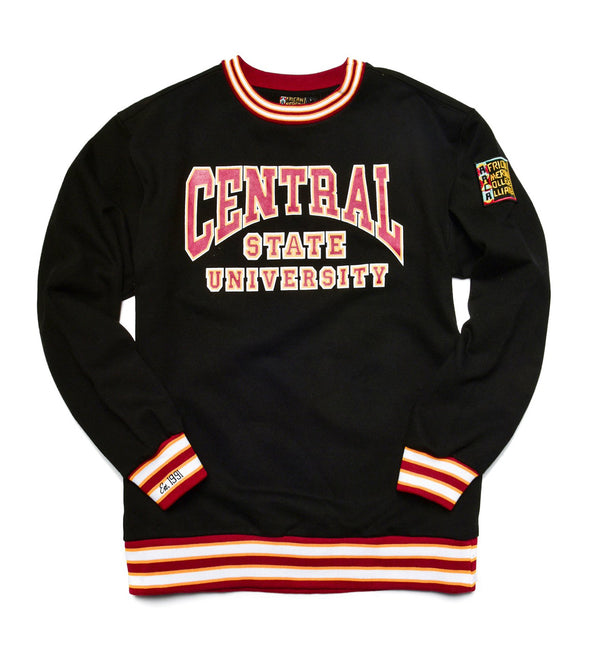 Central State University Classic '91 Crewneck Black/Maroon