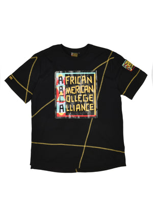 "Limited Edition AACA Classic ""Frankenstein"" Crewneck T-Shirt Black/Gold"