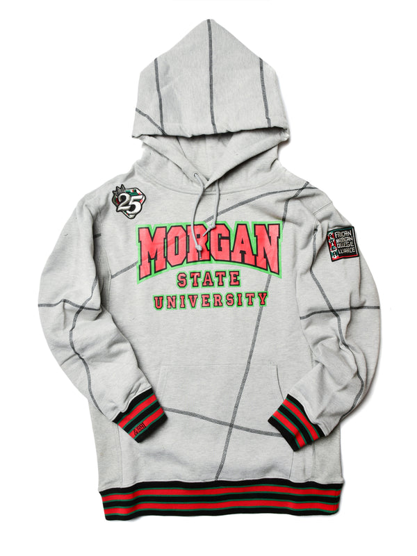 "FTP Morgan State '92 ""Frankenstein"" Stitched Hoodie MDH Grey/Black"