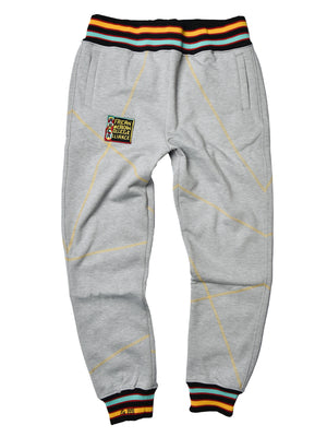 "AACA Original '92 ""Frankenstein"" Stitched Sweatpants Grey/Gold"