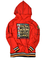 "AACA Original '92 ""Frankenstein"" Stitched Hoodie Red/Black"