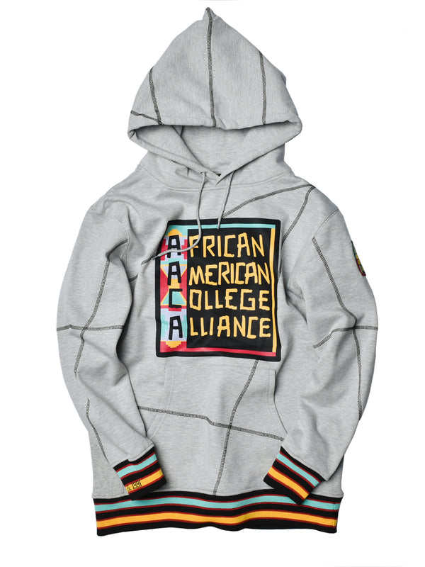 "AACA Original '92 ""Frankenstein"" Stitched Hoodie Grey/Black"
