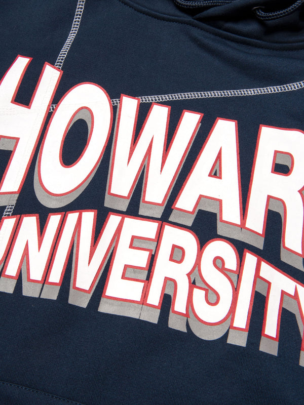 "Howard University '93 ""Frankenstein"" Hoodie Navy/White"