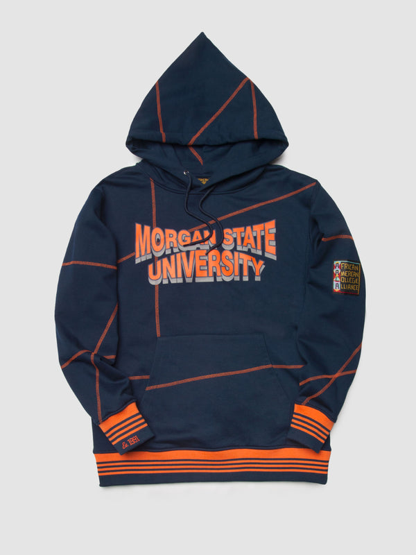 "Morgan State '93 ""Frankenstein"" Hoodie Navy/Orange"