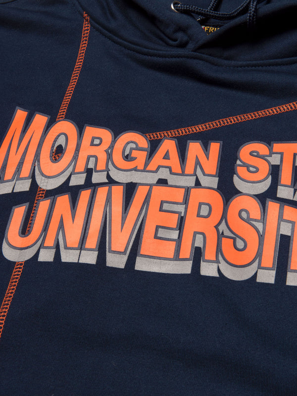 "Morgan State '93 ""Frankenstein"" Sweatsuit - Navy/Orange"