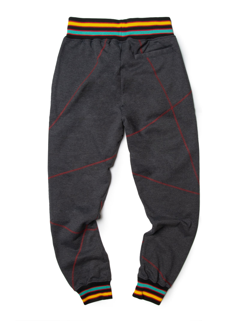 "AACA Original '92 ""Frankenstein"" Stitched Charcoal Grey/Red"