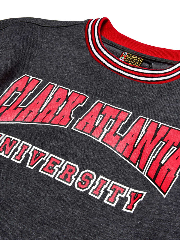 Clark Atlanta University Classic '91 Crewneck Charcoal Grey