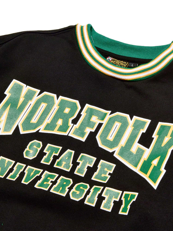 Norfolk State University Classic '91 Crewneck Black