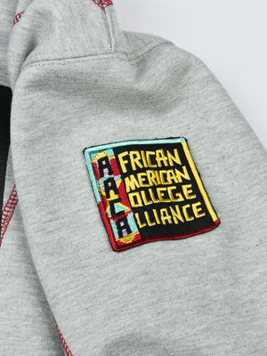 "AACA Original '92 ""Frankenstein"" Stitched Hoodie Grey/Red"