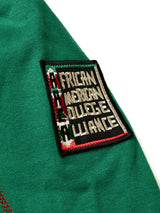 "FTP Howard University '92 ""Frankenstein"" Stitched Hoodie Kelly Green/Red"