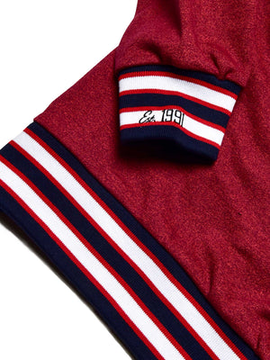 Howard University Classic '91  Crewneck Sweatsuit Red Heather