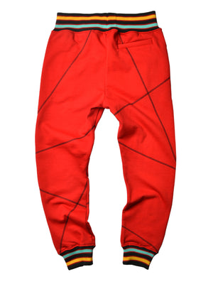 "AACA Original '92 ""Frankenstein"" Stitched Sweatpants Red/Black"