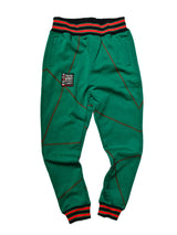 "FTP Original '92 ""Frankenstein"" Stitched Sweatpants Kelly Green / Red"