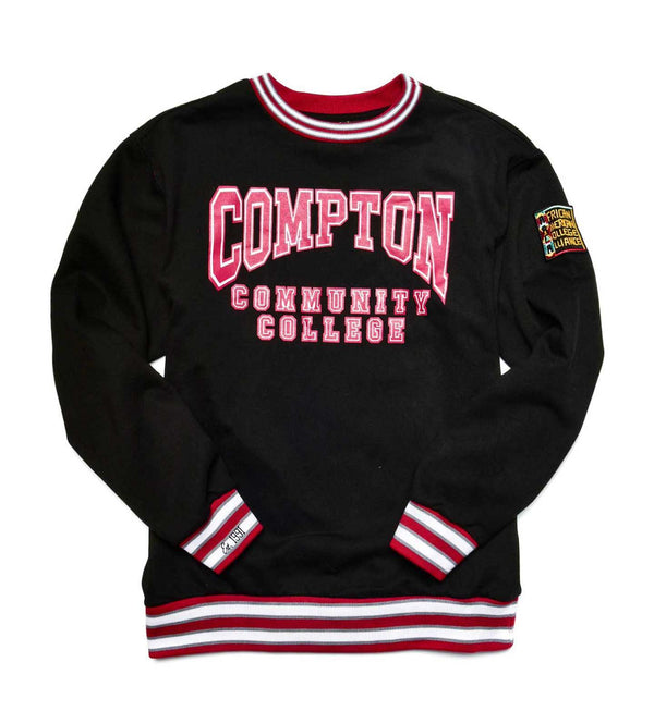 Compton Community College Classic '91  Crewneck Black