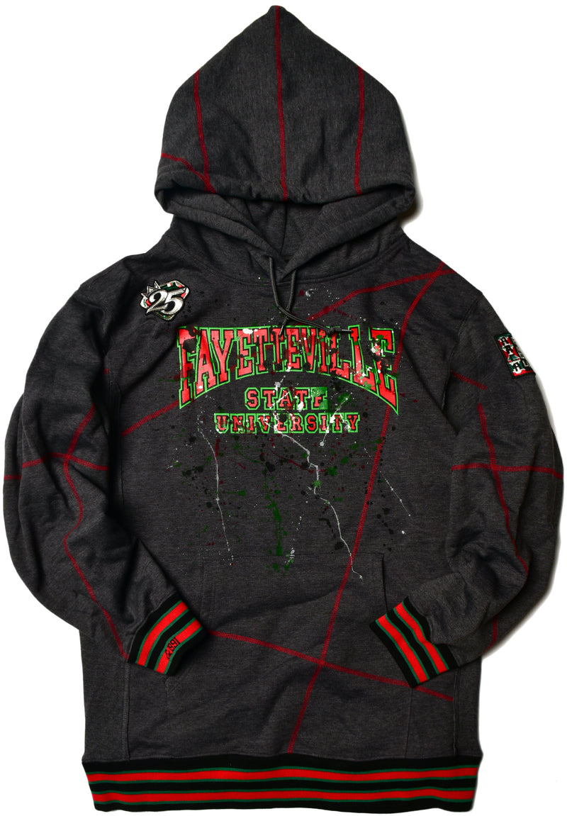 We Are Art Fayetteville State Classic '91 Hoodie Charcoal Grey (2X ONLY)