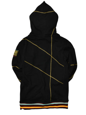 "AACA Original '92 ""Frankenstein"" Stitched Hoodie Black/Gold"