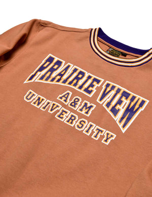 Prairie View A&M University Classic '91 Crewneck Butter Rum