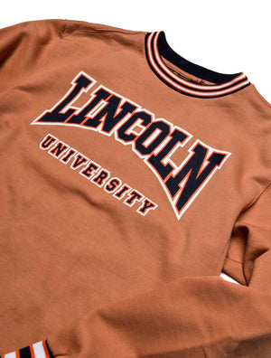 Lincoln University Classic '91 Crewneck Butter Rum