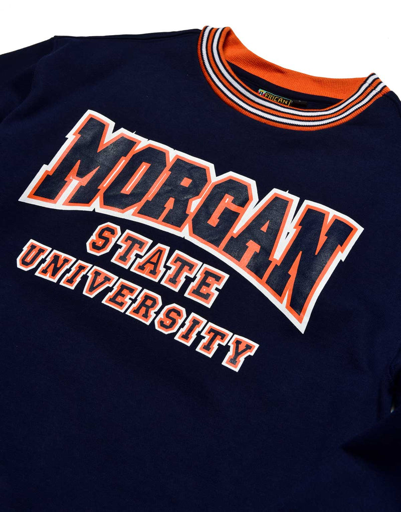 Morgan State University Classic '91  Crewneck Navy