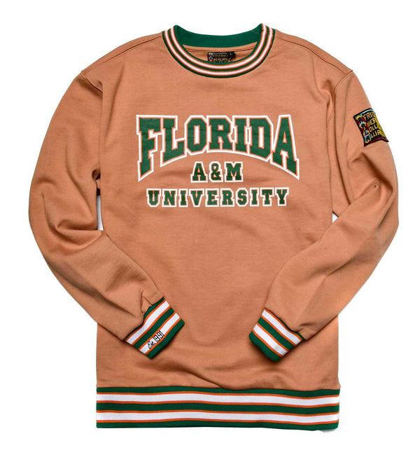 Florida A&M University Classic '91 Crewneck Butter Rum