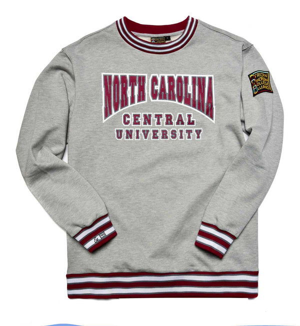 North Carolina Central University Classic '91 Crewneck MDH Grey