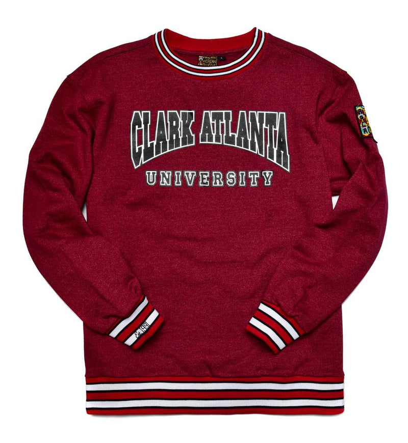Clark Atlanta University Classic '91  Crewneck Red Heather