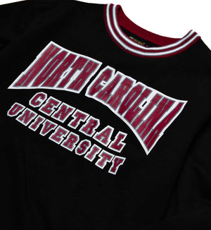 North Carolina Central University Classic '91 Crewneck Black