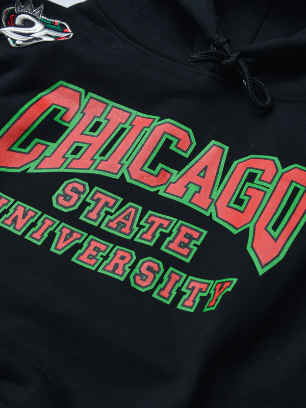 FTP Chicago State University AACA Original '91 Classic Hoodie Black