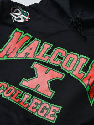 FTP Malcolm X College Classic '92 Hoodie Sweatsuit Black