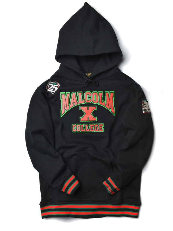 FTP Malcolm X College Classic '91 Hoodie Black