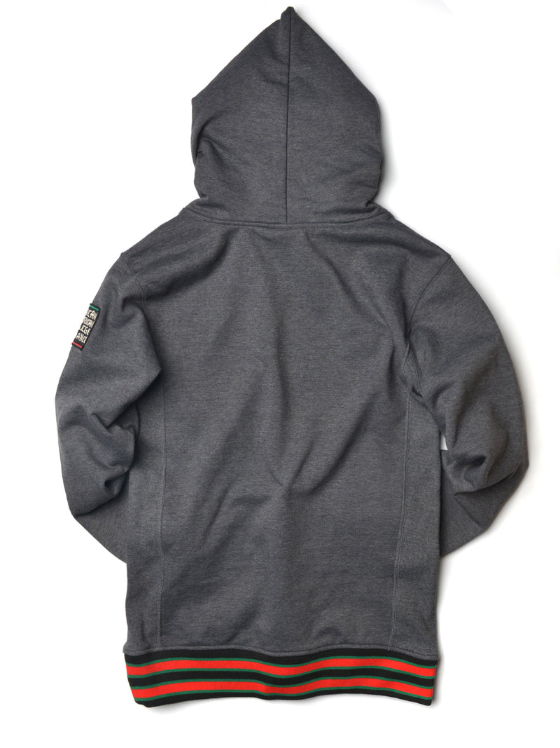 FTP Malcolm X College Classic '91 Hoodie Charcoal Grey
