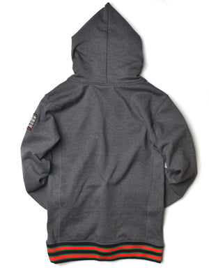 FTP Norfolk State University Classic '91 Hoodie Sweatsuit Charcoal Grey