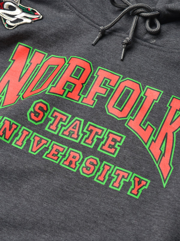 FTP Norfolk State University Classic '91 Hoodie Charcoal Grey
