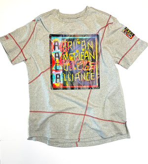 Miskeen Originals' AACA Classic Collabo T-Shirt MDH Grey/Red