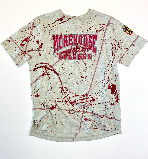 Miskeen Originals' Morehouse All-Over Collabo T-Shirt MDH Grey