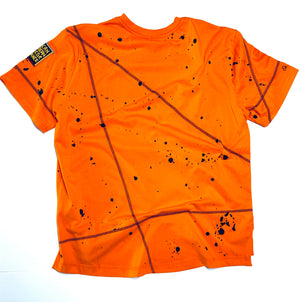 Miskeen Originals' Virginia State All-Over Collabo T-Shirt Orange/Navy