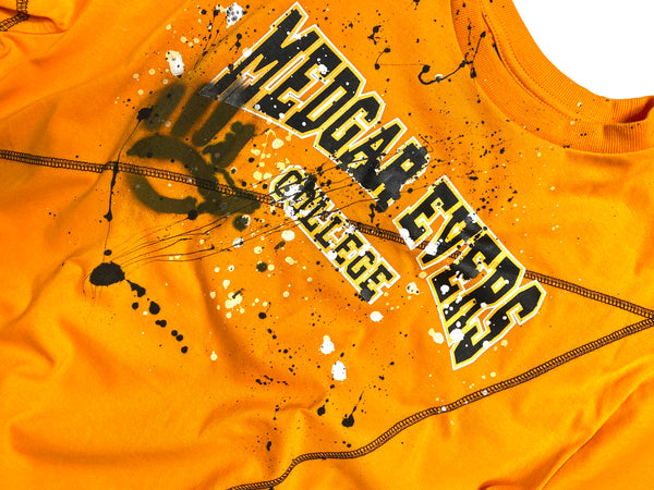 Miskeen Originals' Medgar Evers Collabo T-Shirt Old Gold/Black