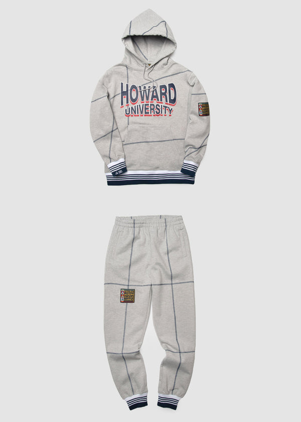 "Howard University '93 ""Frankenstein"" Sweatsuit - MDH Grey/Navy"