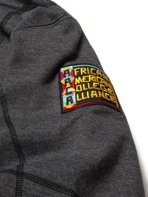 "AACA Original '92 ""Frankenstein"" Stitched Hoodie Charcoal Grey / Black"