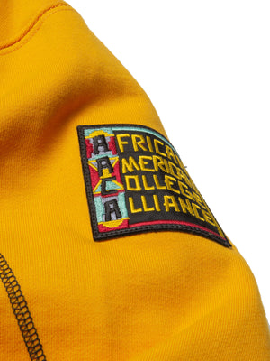 "AACA Original '92 ""Frankenstein"" Stitched Hoodie Gold/Black"