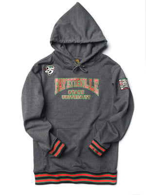 FTP Fayettevile State University Classic '91 Hoodie Charcoal Grey / Red