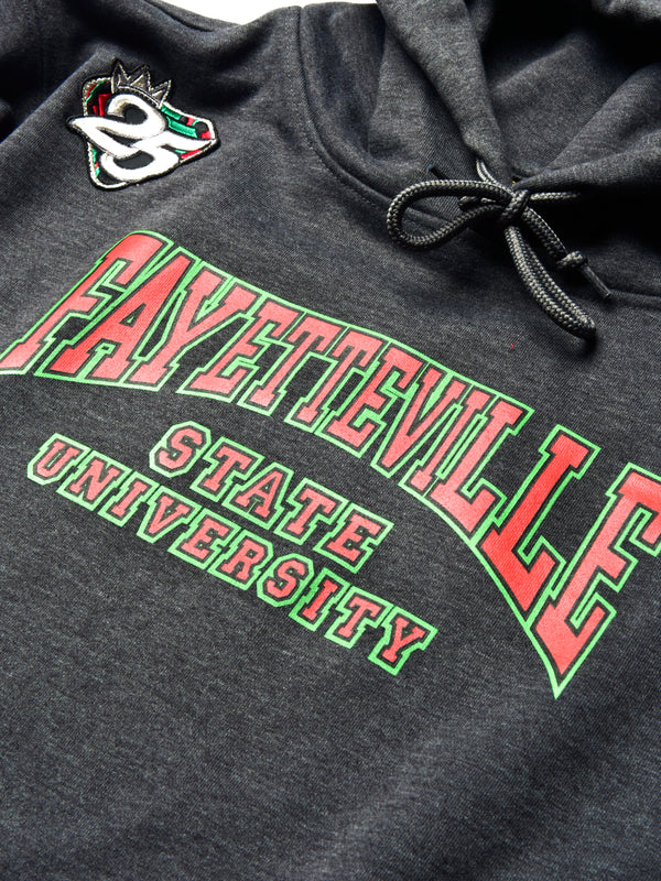 FTP Fayetteville State University Classic '91 Hoodie Charcoal Grey