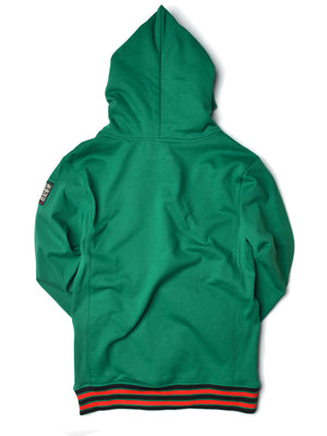 FTP Malcolm X College Classic '92 Hoodie Kelly Green